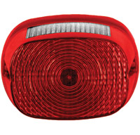 Custom Dynamics Genesis Taillight Assembly 2 Squareback with Window Red LED Board