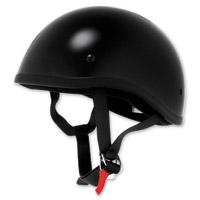 Skid Lid Original Black Half Helmet