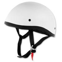 Skid Lid Original White Half Helmet