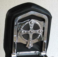Chrome Dome Spanish Cross Backrest Insert