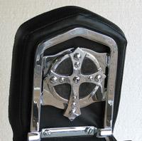 Chrome Dome Spanish Cross Backrest Insert
