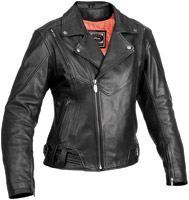 River Road Ladies Sapphire Leather Jacket