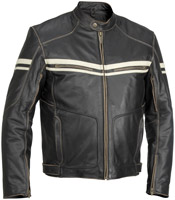 River Road Hoodlum Leather Jacket