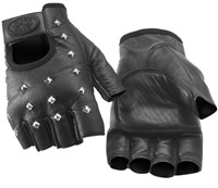 River Road Vegas Shorty Leather Gloves