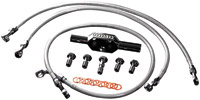 Goodridge High End Bagger Tri-Front (Non ABS) +4 Brake Line Kit