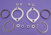 V-Twin Manufacturing Exhaust Flange Kit for Evo, Twin Cam and Sportster