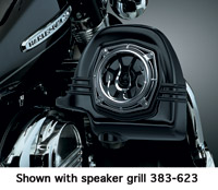 Kuryakyn Kicker 2-ohm Fairing Lower Speakers