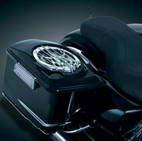 Kuryakyn Kicker Saddlebag Lids with Speakers
