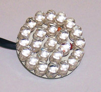 Genesis 1-1/4″  Red Hardwire LED Cluster