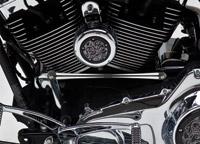 Arlen Ness Black Deep Cut Round Shifter Rod