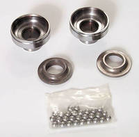 V-Twin Manufacturing Ball Bearing Neck Cup Kit