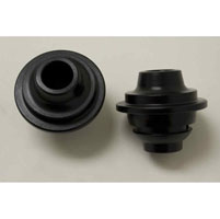 V-Twin Manufacturing Black Fork Spring Rod Bushings