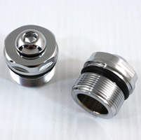 V-Twin Manufacturing E-Z Fill Fork Tube Top Plugs