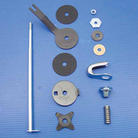 V-Twin Manufacturing Steering Damper Assembly