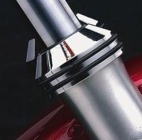 J&P Cycles® Chrome Fork Boot Covers