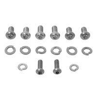 V-Twin Manufacturing Headlamp Cowl Stainless Steel Screw Kit