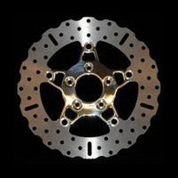 EBC Brakes Custom 5-Button Floating Contour Front Brake Rotors