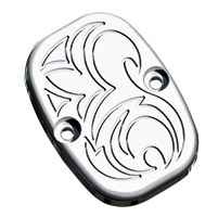 Arlen Ness Chrome Engraved Front Master Cylinder Cover