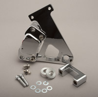 GMA Smooth Chrome 2-Piston Caliper for FLHT/FLHR