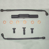 Goodridge Ebony Front Brake Line Kit