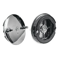 V-Twin Manufacturing Chrome Rear Brake Backing Plate