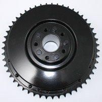 V-Twin Manufacturing Hydraulic Rear Brake Drum