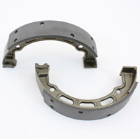 V-Twin Manufacturing Mechanical Brake Shoe Set