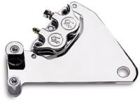 Performance Machine Polished 4 Piston Rear Caliper Kit