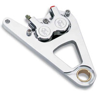 Performance Machine 4 Piston Front Caliper Kit
