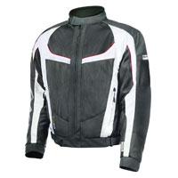 Olympia Moto Sports Men's Switchback 2 Air Ivory Textile Jacket