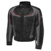 Olympia Moto Sports Men's Switchback 2 Air Pewter/Black Textile Jacket