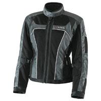 Olympia Moto Sports Women's Switchback 2 Air Pewter/Black Textile Jacket