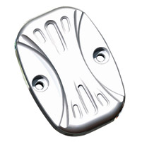 Arlen Ness Chrome Deep Cut Front Master Cylinder Cover
