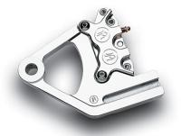 Performance Machine Rear Caliper Kit for Softail Chrome