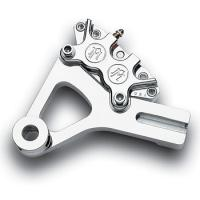 Performance Machine Chrome 4 Piston Classic Rear Caliper Kit