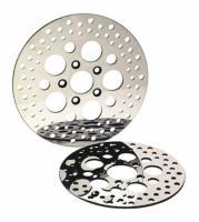 Russell Front Stainless Steel Mirror Polished Disc Brake Rotor