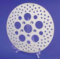 J&P Cycles® Zinc Disc Brake Rotor