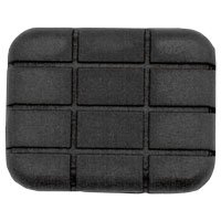J&P Cycles® Brake Pedal Pad Replacement Rubber