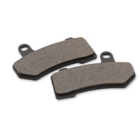 J&P Cycles® Front Organic Replacement Brake Pad