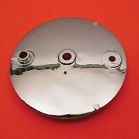 J&P Cycles® Rear Brake Backing Plate