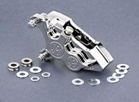 Performance Machine Direct Bolt-On 4 Piston Caliper