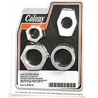 Colony Hydraulic Rear Brake Collar Lock & Nut Kit