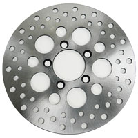 Russell Front Satin Stainless Steel Disc Brake Rotor