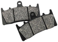 DP Racing Replacement Brake Pads for Jaybrake J-Four Calipers