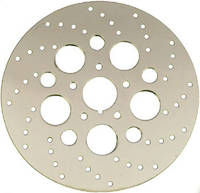 Pro-One Stainless 1-Piece Rotors with Directional Holes Front