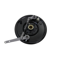 Black Dual Front Cam Brake Backing Plate