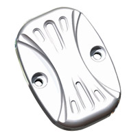 Arlen Ness Chrome Deep Cut Rear Master Cylinder Cover