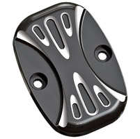 Arlen Ness Black Deep Cut Rear Master Cylinder Cover