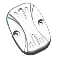 Arlen Ness Deep Cut Chrome Rear Master Cylinder Cover for FLT
