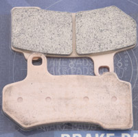 Goodridge Sintered Front/Rear Brake Pads for FLT Models